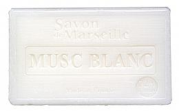 Parfums et Produits cosmétiques Savon de Marseille, Musc blanc - Le Chatelard 1802 Savon de Marseille White Musk Soap