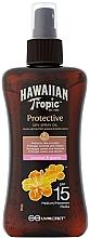 Parfums et Produits cosmétiques Huile sèche bronzante pour corps - Hawaiian Tropic Protective Dry Spray Sun Oil SPF 15