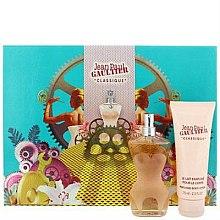 Parfums et Produits cosmétiques Jean Paul Gaultier Classique - Coffret (eau de toilette/50ml + lait parfumé/75ml)