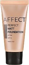 Parfums et Produits cosmétiques Fond de teint matifiant - Affect Cosmetics Perfect Matt Foundation