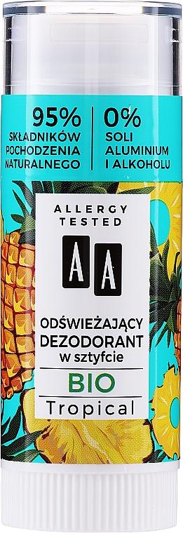 Déodorant stick - AA Bio Tropical Deodorant Stick