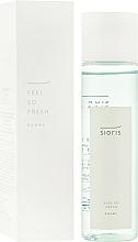 Parfums et Produits cosmétiques Lotion tonique à l'extrait d'amanatsu - Sioris Feel So Fresh Toner