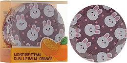 Parfums et Produits cosmétiques Baume à lèvres double action, arôme orange - SeaNtree Moisture Steam Dual Lip Balm Orange 3