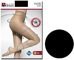 Parfums et Produits cosmétiques Collant pour femme, Yvette, 20 Den, nero - Adrian