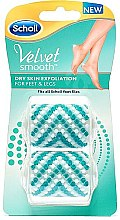 Parfums et Produits cosmétiques Rouleaux de remplacement pour râpe électrique pieds - Scholl Velvet Smooth Peeling Rollen Dry Skin