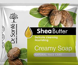 Parfums et Produits cosmétiques Savon crémeux au beurre de karité pour visage - Dr.Sante Cream Soap