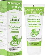 Parfums et Produits cosmétiques Fluide hydratant à l'huile d'amande douce pour visage et corps - Alphanova Baby Moisturizing Fluid