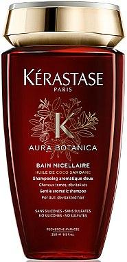 Shampooing aromatique doux pour cheveux ternes, dévitalisés - Kerastase Aura Botanica Bain Micellaire Shampoo
