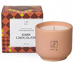 Parfums et Produits cosmétiques Bougie de soja, Chocolat noir - Mys Dark Chocolate Candle