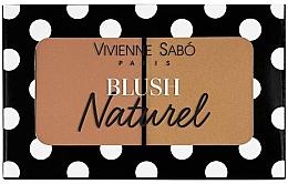 Parfums et Produits cosmétiques Duo blush - Vivienne Sabo Naturel Blush Duo