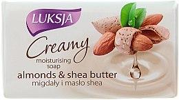 Parfums et Produits cosmétiques Savon crème aux amandes et beurre de karité - Luksja Creamy Almond Shea Butt Soap