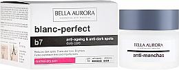 Parfums et Produits cosmétiques Crème éclaircissante anti-taches pigmentaires à l'extrait d'algues rouges pour visage SPF 15 - Bella Aurora B7 Dry Skin Daily Anti-Ageing Anti-Dark Spot Care