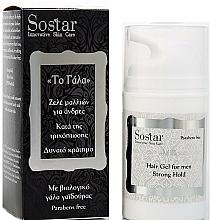 Parfums et Produits cosmétiques Gel au lait d'ânesse bio pour cheveux - Sostar Strong Hold Hair Gel For Men