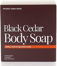 Parfums et Produits cosmétiques Savon au cèdre noir pour corps - Natura Siberica Fresh Spa Russkaja Bania Detox Black Cedar Body Soap