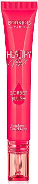 Blush liquide pour le visage - Bourjois Healthy Mix Sorbet Blush