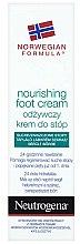 Parfums et Produits cosmétiques Crème au panthénol pour pieds - Neutrogena Nourishing Foot Cream 24H