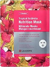 Parfums et Produits cosmétiques Masque tissu nourrissant pour visage - Leaders 7 Wonders Tropical Andiroba Nutrition Mask
