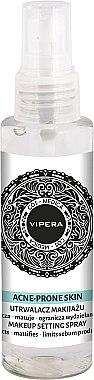 Spray fixateur de maquillage matifiant pour peaux mixtes, grasses et à problèmes - Vipera Cos-Medica Acne-Prone Skin Makeup Setting Spray