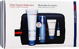 Parfums et Produits cosmétiques Coffret cadeau - Clarins Men Hydration Christmas (exf/125ml + balm/50ml + sh/gel/30ml + sh/oil/3ml)