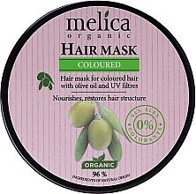 Parfums et Produits cosmétiques Masque à l'huile d'olive pour cheveux - Melica Organic Coloured Olive Oil UV Filters Hair Mask