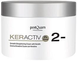 Parfums et Produits cosmétiques Crème à la kératine pour cheveux - PostQuam Keractiv Smooth Straightening Cream With Keratin