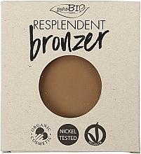 Parfums et Produits cosmétiques Poudre bronzante bio (recharge) - PuroBio Cosmetics Resplendent Bronzer