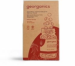 Parfums et Produits cosmétiques Comprimés de nettoyage des dents, Eucalyptus (recharge) - Georganics Natural Toothtablets Eucalyptus