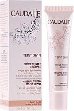 Parfums et Produits cosmétiques Crème teintée minérale à l'acide hyaluronique pour visage - Caudalie Teint Divin Mineral Tinted Moisturizer
