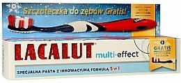 Parfums et Produits cosmétiques Lacalut Multi-Effect - Lot de dentifrice et brosse à dents