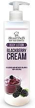 Parfums et Produits cosmétiques Lait naturel pour corps, Crème de mûre - Stani Chef's Blackberry Cream Body Lotion