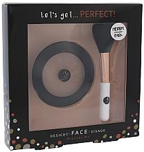 Parfums et Produits cosmétiques Cosmetic 2K Let's Get Perfect! Bronzer Set Medium/Dark - Set (poudre bronzante/10g + pinceau poudre/1pcs)