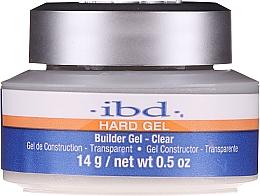 Parfums et Produits cosmétiques Gel de construction, transparent - IBD Hard Gel Builder Gel Clear