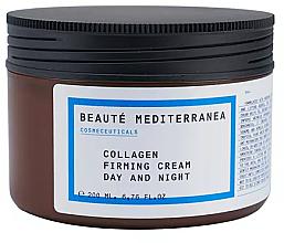 Parfums et Produits cosmétiques Crème de jour et nuit au collagène - Beaute Mediterranea Collagen Firming Cream Day & Night