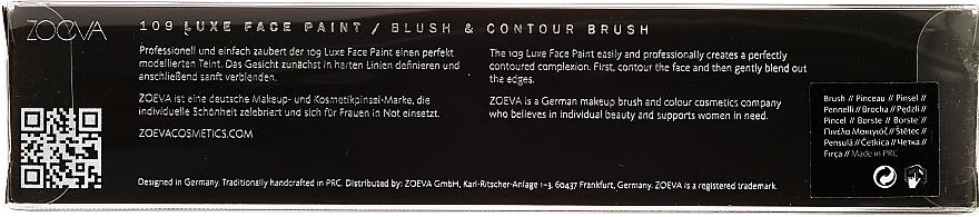 Pinceau contouring et blush - Zoeva 109 Luxe Face Paint — Photo N3