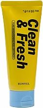 Parfums et Produits cosmétiques Masque peel-off au citron pour visage - Eunyul Clean & Fresh Pure Brightening Peel Off Pack
