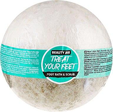 Bombe gommage de bain pour pieds - Beauty Jar Treat Your Feet Foot Bath&Scrub