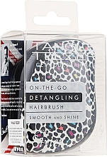 Parfums et Produits cosmétiques Brosse à cheveux compacte - Tangle Teezer Compact Styler Punk Leopard