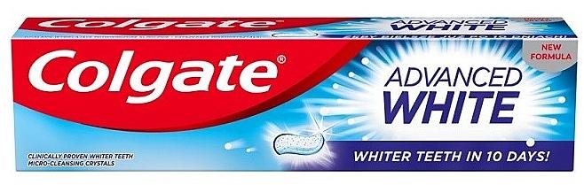 Dentifrice blanchissant - Colgate Advanced White — Photo N1