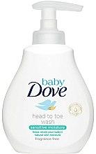 Parfums et Produits cosmétiques Gel douche et shampooing hypoallergénique - Dove Baby Sensitive Moisture Head to Toe Wash