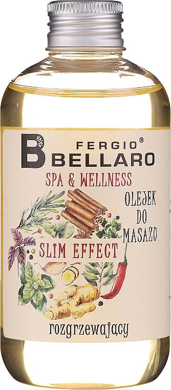 Huile de massage amincissante au gingembre pour corps - Fergio Bellaro Massage Oil Slm Effect