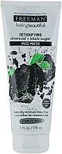 Parfums et Produits cosmétiques Masque de boue détoxifiant au charbon et sucre noir - Freeman Feeling Beautiful Charcoal & Black Sugar Mud Mask