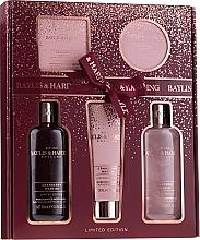 Parfums et Produits cosmétiques Coffret cadeau - Baylis & Harding Cranberry Martini Limited Edition Set (sh/gel/300ml + sh/cr/300ml + h/b/lot/130ml + soap/150g + b/butter/100ml)