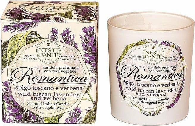 Bougie parfumée à la cire végétale, Lavande de Toscane et Verveine - Nesti Dante RomanticaTuscan Lavender & Verbena — Photo N1