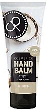 Parfums et Produits cosmétiques Baume à l'huile de coco pour mains - Cosmepick Hand Balm Coco&Shea Butter