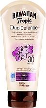 Parfums et Produits cosmétiques Lotion solaire SPF 30 - Hawaiian Tropic Duo Defence Sun Lotion SPF30