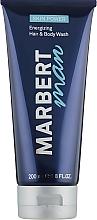 Parfums et Produits cosmétiques Gel douche énergisant pour corps et cheveux - Marbert Man Skin Power Hair & Body Wash