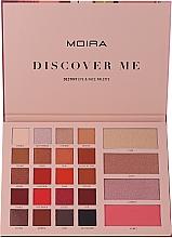 Parfums et Produits cosmétiques Palette de maquillage pour visage et yeux - Moira Discover Me Destiny Eye & Face Palette