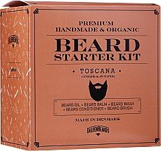 Parfums et Produits cosmétiques Golden Beards Starter Beard Kit Toscana - Coffret