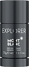 Parfums et Produits cosmétiques Montblanc Explorer - Déodorant stick anti-transpirant
