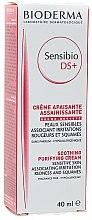 Parfums et Produits cosmétiques Crème apaisante assainissante pour visage - Bioderma Sensibio DS+ Soothing Purifying Cleansing Cream